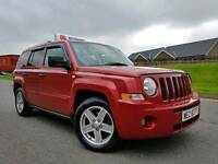 March 2008 Jeep Patriot 2.0 Crd 4x4 Limited! Top Spec! Full Leather! Heated Seats! Only 84000 MILES!