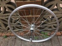 Child's bike frame, front forks and 2 brand new wheels