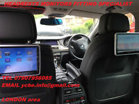 CAR HEADREST SCREEN DVD FITTING SPECIALST INSTAL(with SRS modul removal)