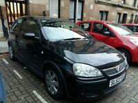 Vauxhall corsa sxi black 70k 53 plate