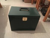 A4 Paper Metal Filing Storage Box