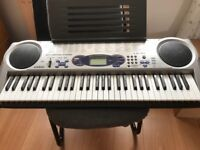 Casio LK43 Keyboard , 61 full-size keys with 12-note polyphony, excellent condition, Belfast