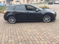 2011 11reg Mazda 3 MPS 2.3 Turbo Black New Shape