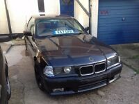 BMW E36 unfinished drift project