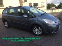 2008 CITROEN C4 GRAND PICASSO 7 SEATER FINANCE AVAILABLE NEW BELT AND WATER PUMP