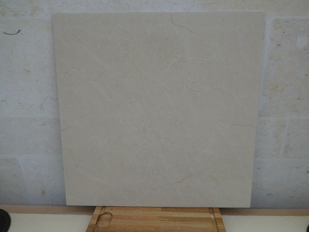 Large Crema Marfil tiles - price reduction