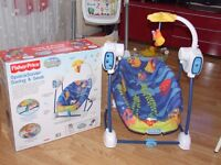 Fisher-Price Space Saver Swing and Seat