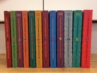 Lemony Snicket A Series of Unfortunate Events. 12 paperback children's book series