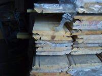 7 inch torus/ogee pine skirting (new)
