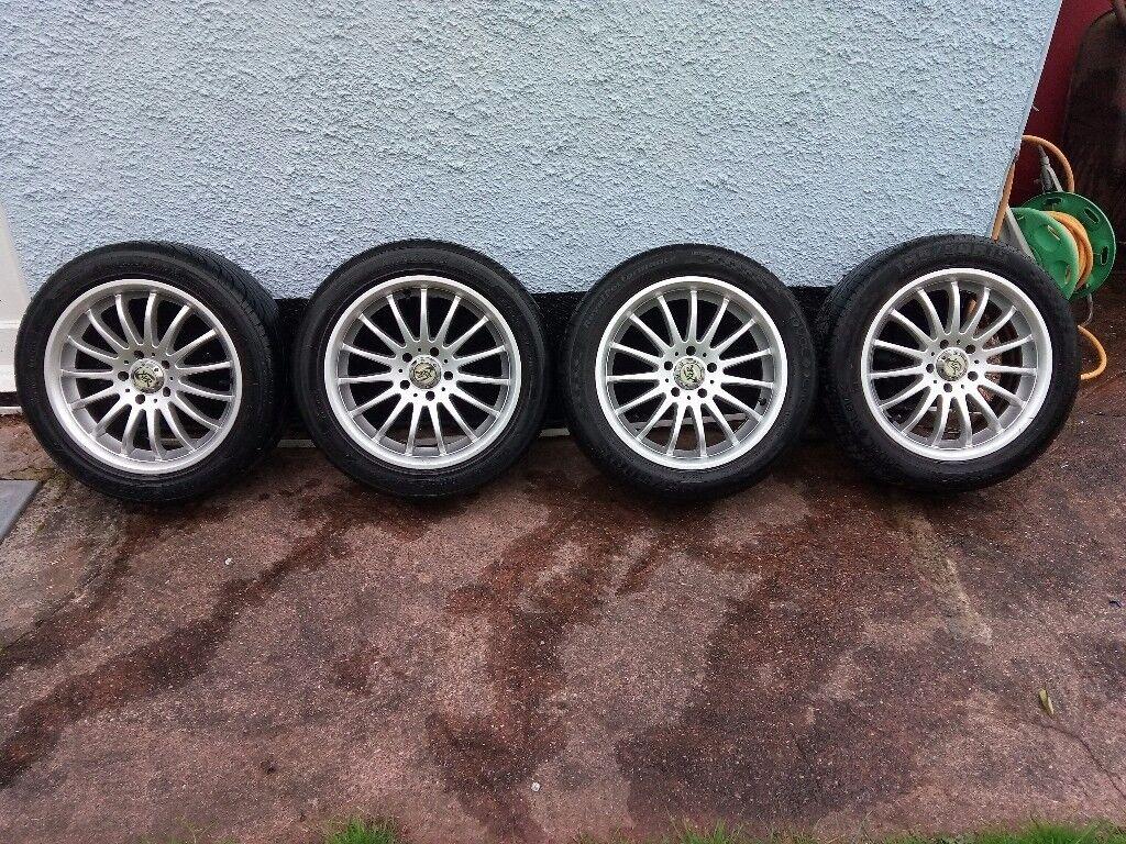 Alloy wheels 5×100×15