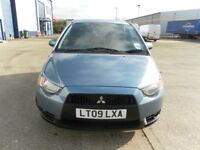 2009 MITSUBISHI COLT 1.3 AUTOMATIC VERY LOW MILEAGE 6700 DRIVES LIKE NEW NICE CONDITION