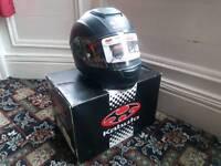 Kabuto RT-33 Large Motobike Helmet FIAT BLACK (MATT)