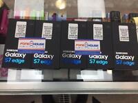 BRAND NEW SAMSUNG GALAXY S7 EDGE BLACK ULOCKED