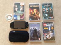 PSP bundle games and films
