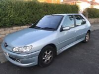 PEUGEOT 306 VERY CLEAN RELIABLE CAR NICE SPEC LOW MILES AND LONG MOT