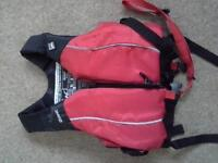 kids gul short wetsuit and quest buoyancy aid