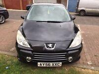 2006 Peugeot 307 1.6 16v S 5dr Fully HPI Clear @@07445775115 @ 07725982426@ @