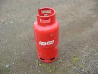 'Full' 19kg propane gas bottle, can be delivered