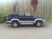 NEW SHAPE 1996 P - TOYOTA HILUX SURF GEN 3- 3.0 TURBO DIESEL AUTOMATIC