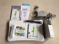 Nintendo Wii and Fit Board