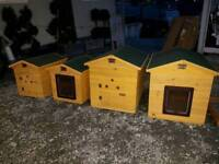 ++ Dog Kennels k9 houses wooden and steel dog kennels in stock ++