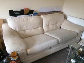 Sofa - 3 seater deep 2m long