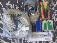5in1 RJ45 LAN Network Tool Kit, Tester, Crimp, Plug, Cat5e ethernet cable
