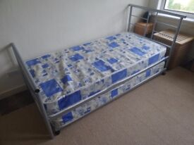 Single bed with guest pull out . . Dismantled for easy transport . Smoke & pet free home
