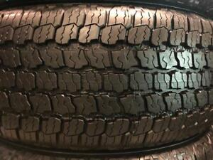 275/55/20 Goodyear wrangler all terrain    ETE / SUMMER   nouveau / new