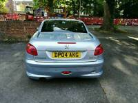 Peugeot 206CC 1.6 allure automatic_A reasonably priced summer car for first car drivers