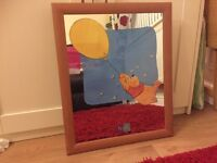 Winnie the Pooh nursery mirror