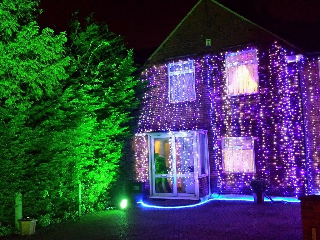 Asian Indian Wedding House Lights Led Fairly Southall