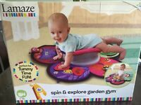 Tomy Lamaze Spin and Explore Garden Gym - tummy time