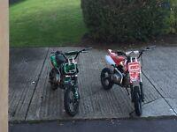 Welsh pit bike & super stomp
