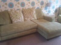 Dfs CORNER SOFA AND CUDDLE CHAIR NEED GONE ASAP