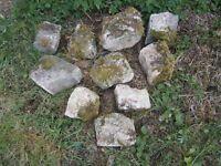 Rockery / building Stone
