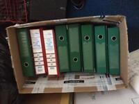 Paper binders and lever arch files
