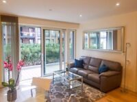 STYLISH 1 BEDROOM FLAT WITH PRIVATE TERRACE AVAILABLE IN HAMPTON APARTMENTS, GREENWICH, LONDON