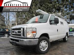 2008 Ford E350 HAS BUILT IN GENERATOR!