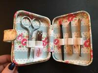 Cath Kidston Manicure Kit *AS NEW*