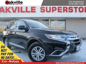 2016 Mitsubishi Outlander ES | AWD |  BLUETOOTH | HEATED SEATS |