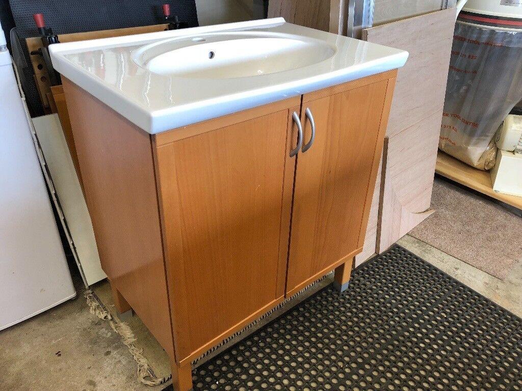 Ikea Beech Bathroom Furniture