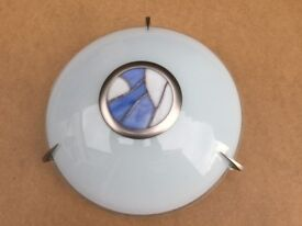 Art Deco Style Glass Ceiling Light Fitting
