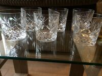Royal Doulton whiskey glasses