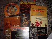 VINYL MIXED LOT-MAINLY SOUNDTRACKS-OKLAHOMA/SOUTH PACIFIC ETC
