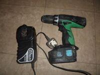 Hitachi hammer drill 18V