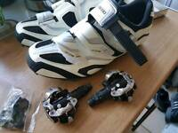 SHIMANO SHOES AND PEDALS