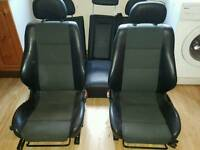 Vectra b half leather seats