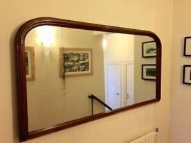 For sale. Antique mirror.