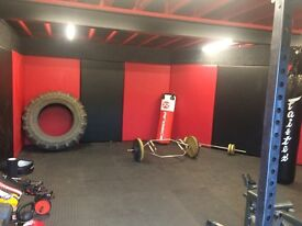 Personal gym space for hire fully equipped